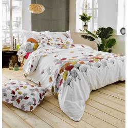 GINKGO Rose Parure de lit Percale de coton - Tradilinge