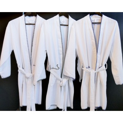 DJERBA Peignoir Kimono Taille courte - Vent du Sud