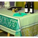 EYGALIERE Amande Nappe Jacquard Polyester - Sud Etoffe