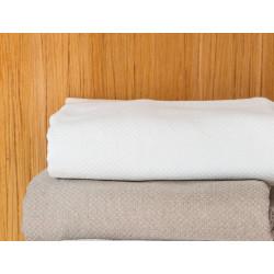 PERIGORD Couvre lit piqué de coton - Toison d'Or