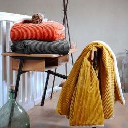 ERNEST Plaid chenillé 100 % polyester - Stof