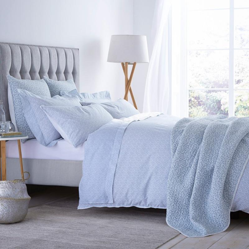 delicated parure de couette 260x240 bianca cotonsoft linge mat. Black Bedroom Furniture Sets. Home Design Ideas