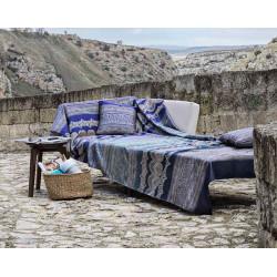 BRUNELLESCHI Blue B1 Foulard de décoration - Bassetti Granfoulard