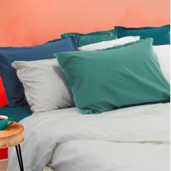 ZORA Parure de couette Unie 100 % coton lavé - 6 coloris - Garnier Thiebaud