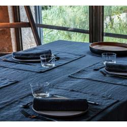 ROMANCE Nappe 100% lin lavé - Vent du sud