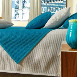 Ginger couvre lit matelassé uni - Vent du Sud