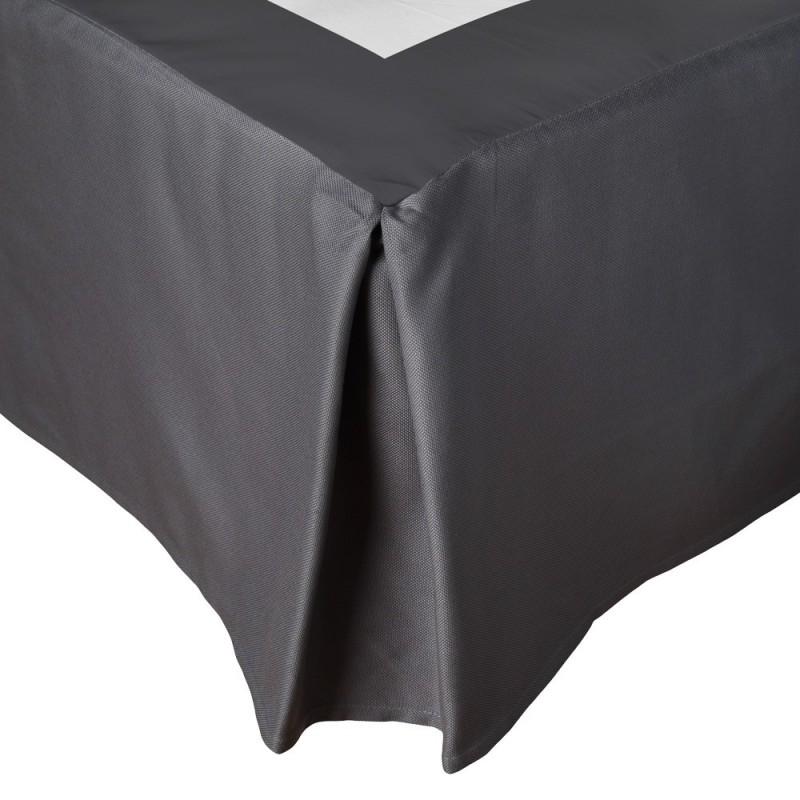 cache sommier plis creux de toison d 39 or linge mat. Black Bedroom Furniture Sets. Home Design Ideas