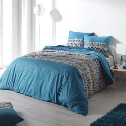 Parure de lit ESSENTIEL Bleu - C Design