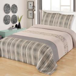 elegant matteo couvre lit matelass avec taies duoreillers vent du sud with mat linge de maison. Black Bedroom Furniture Sets. Home Design Ideas