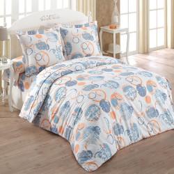 free bastien orange lot de taies duoreillers x fil blanc with mat linge de maison. Black Bedroom Furniture Sets. Home Design Ideas
