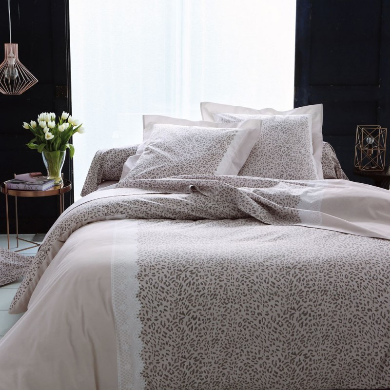 desirade taie de traversin pur coton imprim e de tradilinge linge mat. Black Bedroom Furniture Sets. Home Design Ideas
