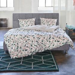 beautiful daria multi parure de lit esprit with mat linge de maison. Black Bedroom Furniture Sets. Home Design Ideas
