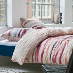 mange red parure de lit esprit linge mat. Black Bedroom Furniture Sets. Home Design Ideas