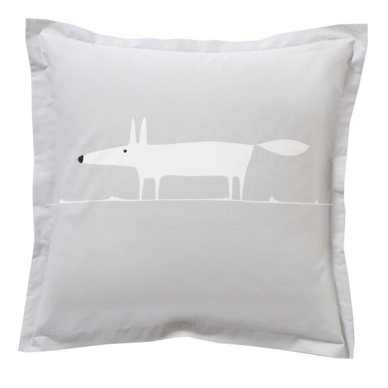 mr fox gris drap plat de scion living linge mat. Black Bedroom Furniture Sets. Home Design Ideas