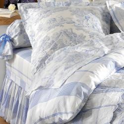 Pastorale Bleu Taie d'oreiller - Aude de Balmy