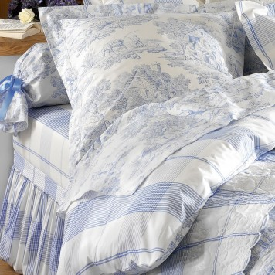 Pastorale Bleu Drap plat - Aude de Balmy