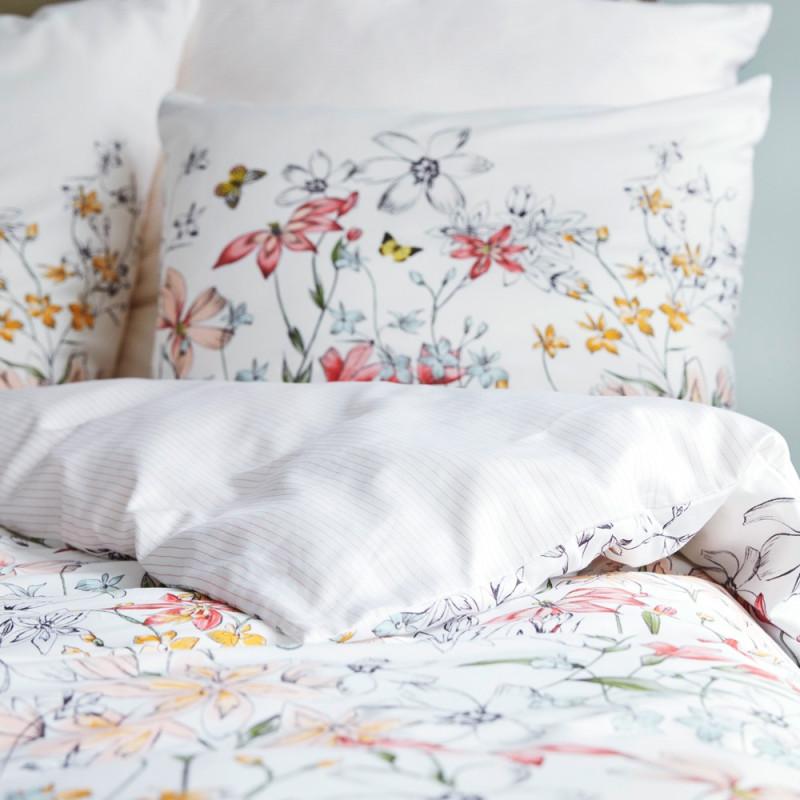 edie taie d 39 oreiller satin de coton esprit linge mat. Black Bedroom Furniture Sets. Home Design Ideas