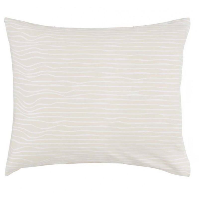 linar taie d 39 oreiller satin de coton esprit linge mat. Black Bedroom Furniture Sets. Home Design Ideas