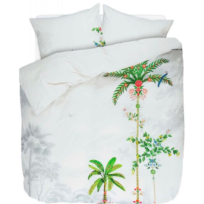 indian palms housse de couette percale de coton pip studio linge mat. Black Bedroom Furniture Sets. Home Design Ideas