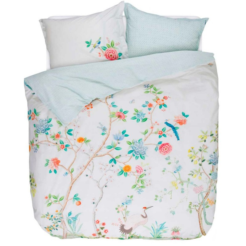 Good morning white housse de couette percale pip studio - Housse couette pip studio ...