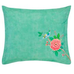 Good Morning Green Taie d'oreiller Percale de coton - Pip Studio