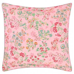 Jaipur Flower Pink Taie d'oreiller Percale de coton - Pip Studio