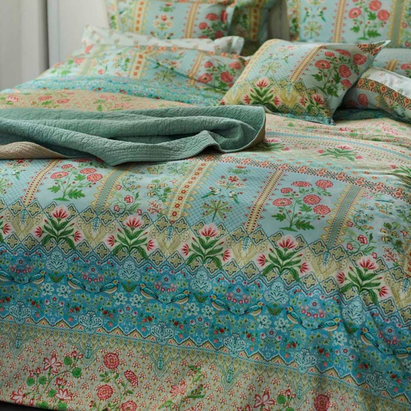 darjeeling parure de lit percale de coton pip studio linge mat. Black Bedroom Furniture Sets. Home Design Ideas