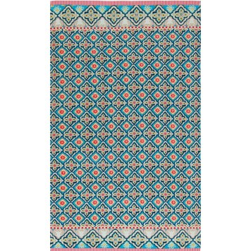 Drap de Plage Star Check Blue 100x180 - Pip Studio
