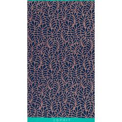 Leaf Blue Drap de plage 100x180 - Esprit