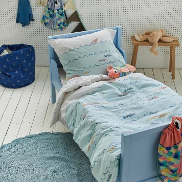 Parure de couette Fishy - Covers and Co