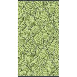 TROPICAL Maxi drap de plage 90x175cm - 100% coton - MAT