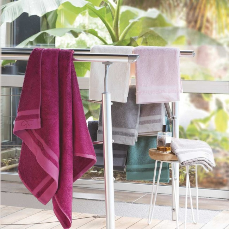 BAMBOU drap de douche 600g/m², 65% coton 35% bambou - Garnier Thiebaut -  Linge Mat