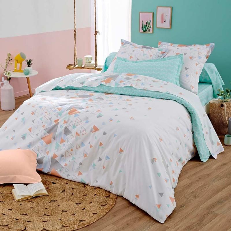 helsi mint drap housse tradilinge linge mat. Black Bedroom Furniture Sets. Home Design Ideas