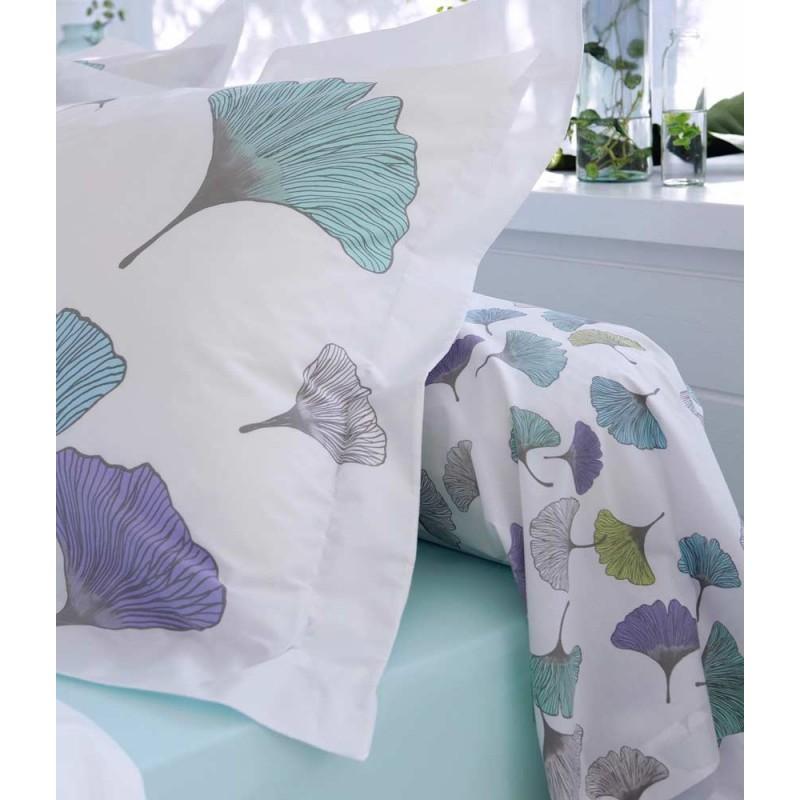 ginko parure de lit percale de coton tradilinge linge mat. Black Bedroom Furniture Sets. Home Design Ideas