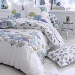 ginko drap housse c ladon en percale de coton tradilinge. Black Bedroom Furniture Sets. Home Design Ideas