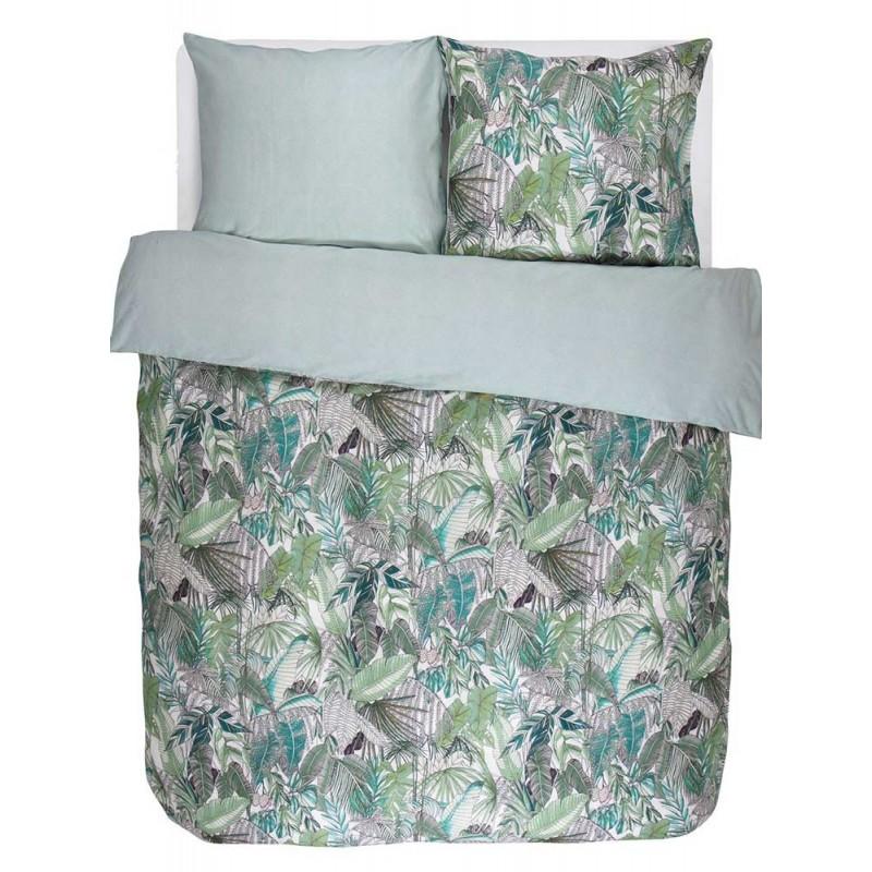 loba green parure de lit en satin de coton essenza. Black Bedroom Furniture Sets. Home Design Ideas