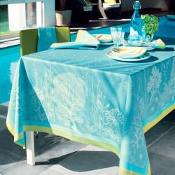 CORAIL LAGON Nappe et serviette - Garnier Thiebaut