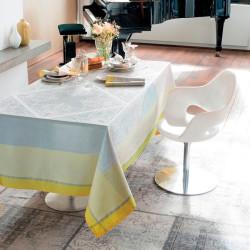 ALEXANDRINE MIMOSA Nappe et serviette - Garnier Thiebaut