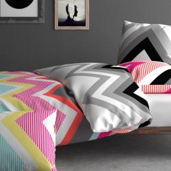 ZIG ZAG Parure de lit - Inspiration par Anne de Solène