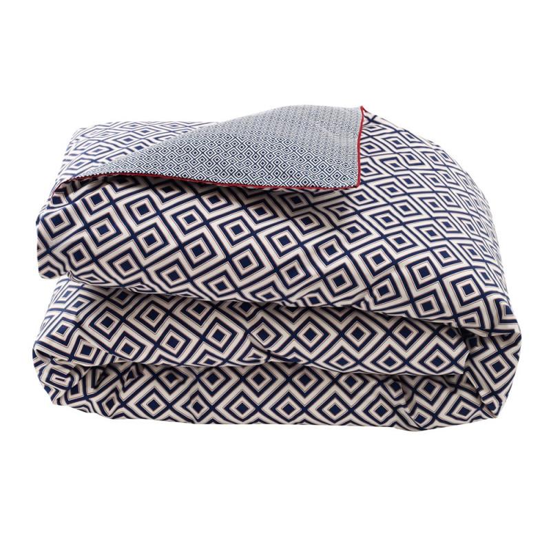 ermitage nuit housse de couette descamps linge mat. Black Bedroom Furniture Sets. Home Design Ideas