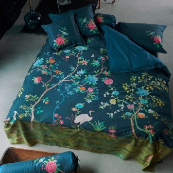 GOOD MORNING Dark Blue Parure de lit Percale de coton - Pip Studio