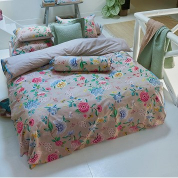 GOOD EVENING Khaki Parure de lit Percale de coton - Pip Studio