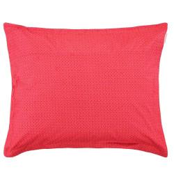 GOOD NIGHT Red Taie d'oreiller Percale de coton - Pip Studio