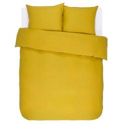 MINTE Golden Yellow Housse de couette Satin de coton - Essenza