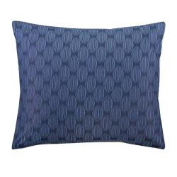 NOUNI Blue Taie d'oreiller Satin de coton - Esprit