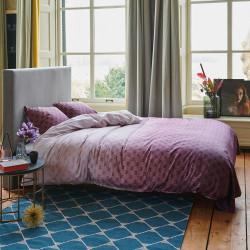 NOUNI Bordeaux Parure de lit Satin de coton - Esprit
