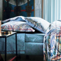 Djakarta Turquoise - drap housse