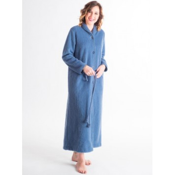COL HIRONDELLE Robe de chambre 100 % pure laine - Val d'Arizes