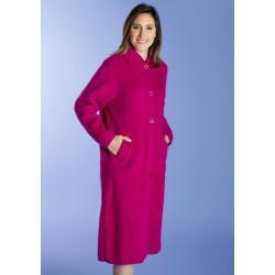BOUTONNÉ 7 / 8ème Robe de chambre 100 % pure laine - Val d'Arizes
