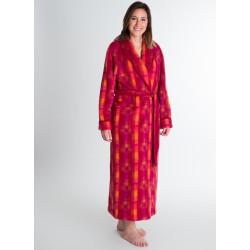 GALON BRILLANT Écossais Robe de chambre 100 % pure laine - Val d'Arizes